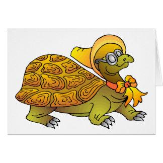 Cartoon Turtle Greeting Card