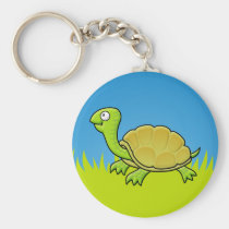 Cartoon Turtle Keychain