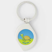 Cartoon Turtle Keychain