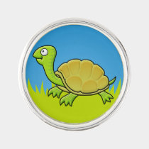 Cartoon Turtle Pin