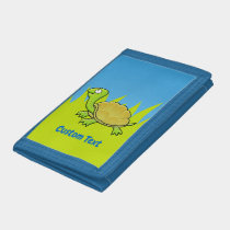Cartoon Turtle Trifold Wallet
