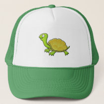 Cartoon Turtle Trucker Hat