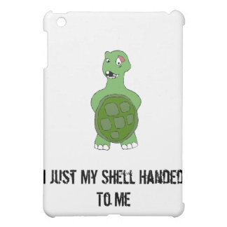 Cartoon Turtle With Black Eye iPad Mini Case