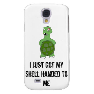 Cartoon Turtle With Black Eye Samsung S4 Case