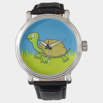 Cartoon Turtle Wrist Watch