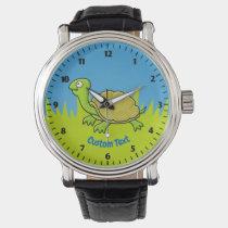 Cartoon Turtle Wrist Watch
