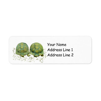 Cartoon Turtles Avery Return Address Label