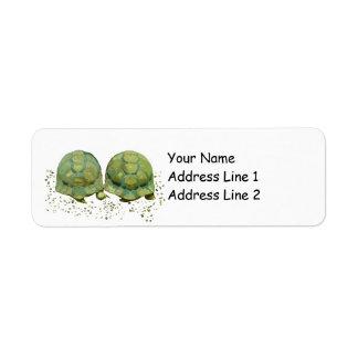 Cartoon Turtles Avery Return Address Label