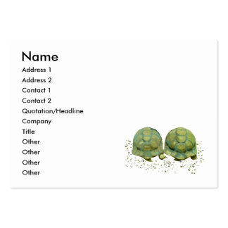 Cartoon Turtles Business Card
