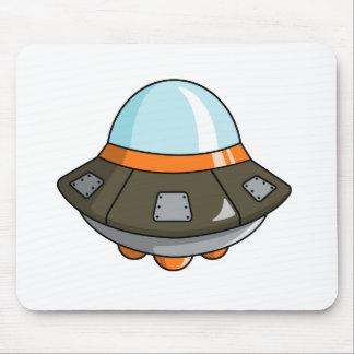 Cartoon U.F.O./Flying Saucer Mouse Pads