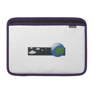 Cartoon UFO Invasion MacBook Air Sleeves