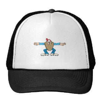 cartoon ump umpire calling SAFE Trucker Hat