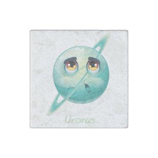 Cartoon Uranus Stone Magnet