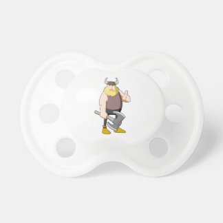 Cartoon Viking Baby Pacifiers