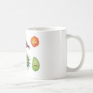 Cartoon Viruses Coffee Mug
