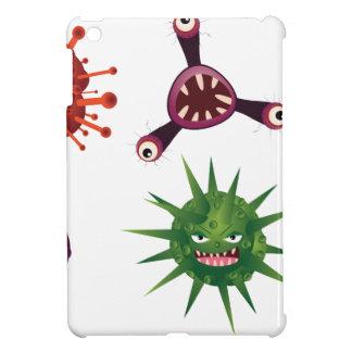 Cartoon Viruses Cover For The iPad Mini