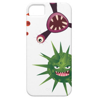 Cartoon Viruses iPhone SE/5/5s Case