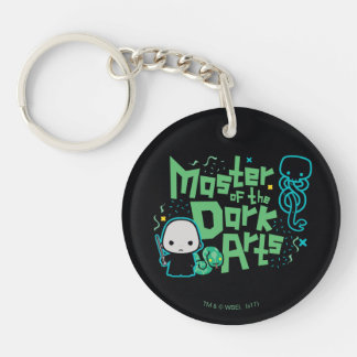 Cartoon Voldemort - Master of the Dark Arts Keychain