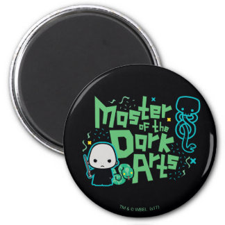 Cartoon Voldemort - Master of the Dark Arts Magnet