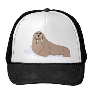 Cartoon Walrus Trucker Hat