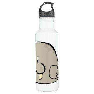 Cartoon Walrus 24oz Water Bottle