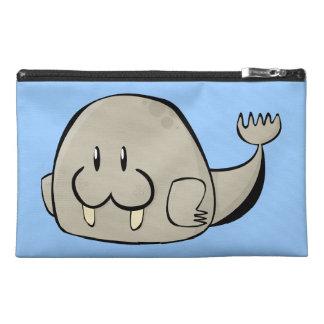 Cartoon Walrus Travel Accessories Bag