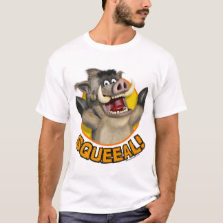 Cartoon Warthog Animal T-Shirt
