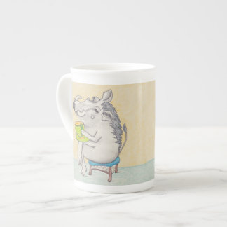 Cartoon Warthog mug. Tea Cup