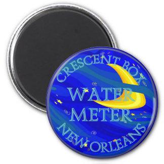 Cartoon Water Meter Magnet
