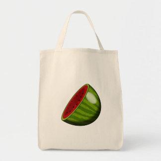 Cartoon Watermelon half Bag