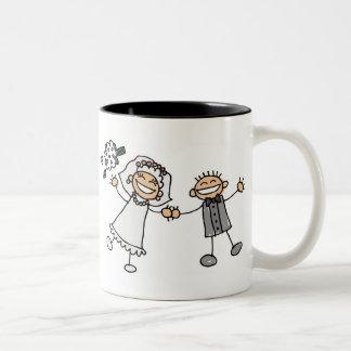 Cartoon Wedding Coffee Mug