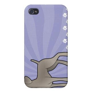 Cartoon Weimaraner iPhone 4/4S Cases
