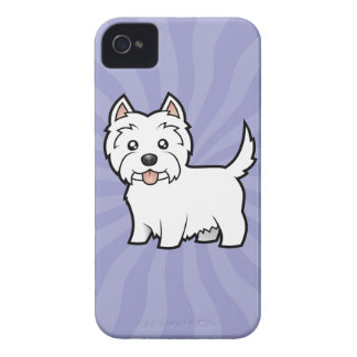 Cartoon West Highland White Terrier iPhone 4 Cover