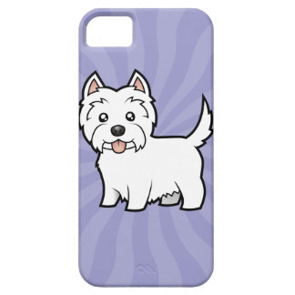 Cartoon West Highland White Terrier iPhone SE/5/5s Case