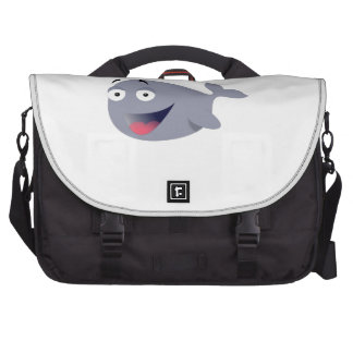 Cartoon Whale Bag For Laptop