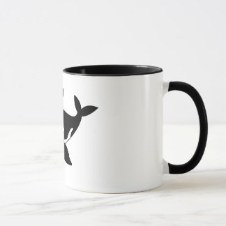 cartoon whale mug