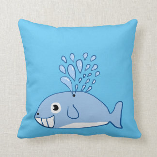 Cartoon Whate Pillow