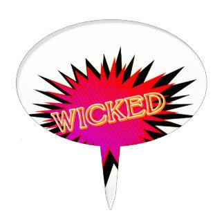Cartoon Wicked Cake Topper