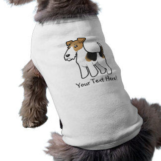 Cartoon Wire Fox Terrier Shirt