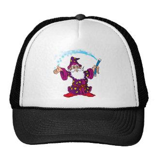 Cartoon Wizard Trucker Hat