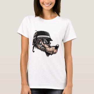 Cartoon Wolf T-Shirt