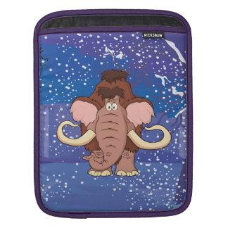 Cartoon Woolly Mammoth iPad Sleeve