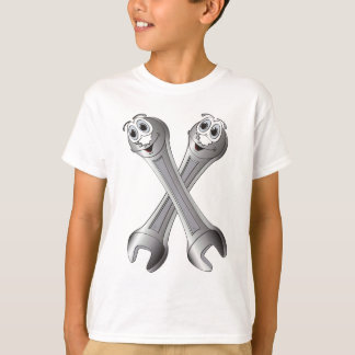 Cartoon Wrenches T-Shirt