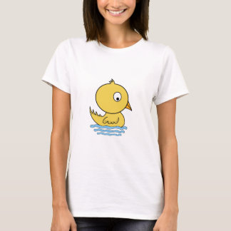 Cartoon Yellow Duck T-Shirt