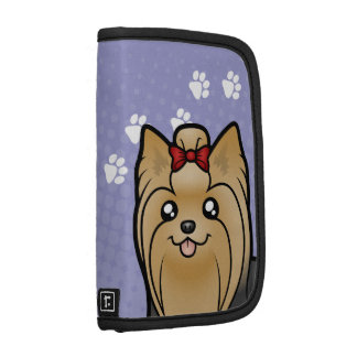 Cartoon Yorkshire Terrier (long hair with bow) Organizer