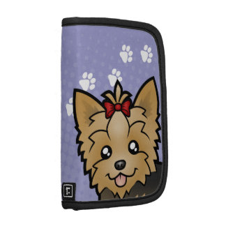 Cartoon Yorkshire Terrier (short hair with bow) Organizers