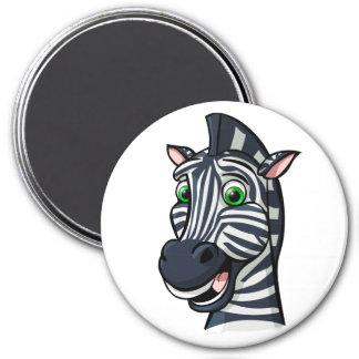 Cartoon Zebra Fridge Magnet
