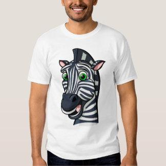 Cartoon Zebra Tshirt
