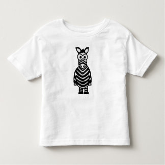 Cartoon Zebra Tshirts