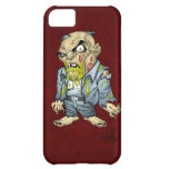 Cartoon Zombie Business Man Art by Al Rio Case For iPhone 5C